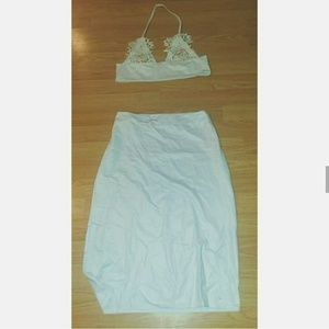Bralette & Matching Skirt
